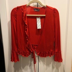 Urban Outfitters Tops - BRAND NEW URBAN OUTFITTERS tie top